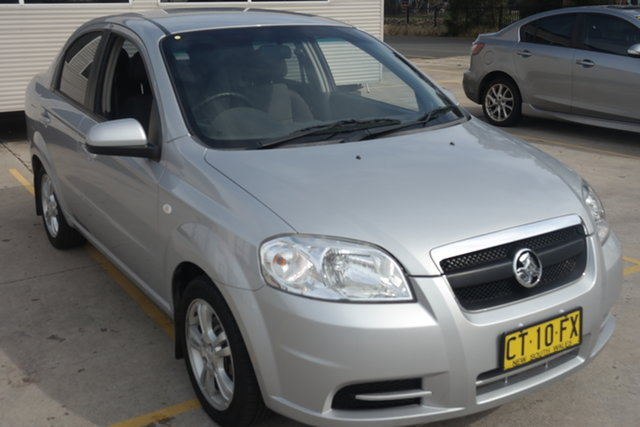 Used Holden Barina TK MY10 Maryville, 2010 Holden Barina TK MY10 Silver 4 Speed Automatic Sedan