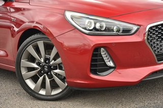 2018 Hyundai i30 PD MY18 SR D-CT Premium Red 7 Speed Sports Automatic Dual Clutch Hatchback