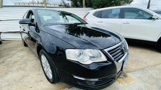 2009 Volkswagen Passat Type 3C MY10 147TSI Black 6 Speed Sports Automatic Sedan.