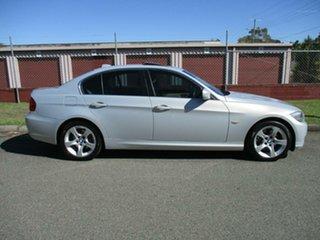 2010 BMW 3 Series E90 MY11 320d Steptronic Lifestyle Silver 6 Speed Sports Automatic Sedan.