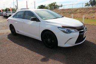 2017 Toyota Camry ASV50R RZ Diamond White 6 Speed Sports Automatic Sedan.