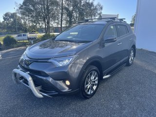 2016 Toyota RAV4 ASA44R Cruiser AWD Grey 6 Speed Sports Automatic Wagon.