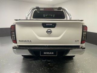 2016 Nissan Navara D23 S2 ST White 6 Speed Manual Utility