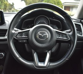 2018 Mazda 3 BN5238 SP25 SKYACTIV-Drive Silver 6 Speed Sports Automatic Sedan