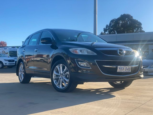 Used Mazda CX-9 Luxury Goulburn, 2011 Mazda CX-9 Luxury Black Sports Automatic Wagon