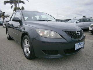 2006 Mazda 3 BK10F1 Maxx Grey 5 Speed Manual Hatchback.