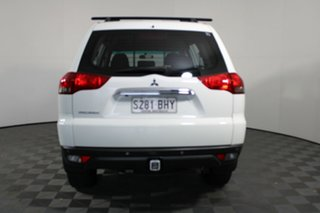 2014 Mitsubishi Challenger PC (KH) MY14 White 5 Speed Sports Automatic Wagon