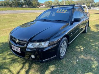 2006 Holden Crewman VZ MY06 S Black 4 Speed Automatic Utility.