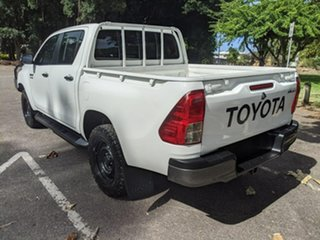 2017 Toyota Hilux GUN126R SR Double Cab White 6 Speed Sports Automatic Utility