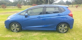 2016 Honda Jazz GF MY16 VTi-L Blue 1 Speed Constant Variable Hatchback