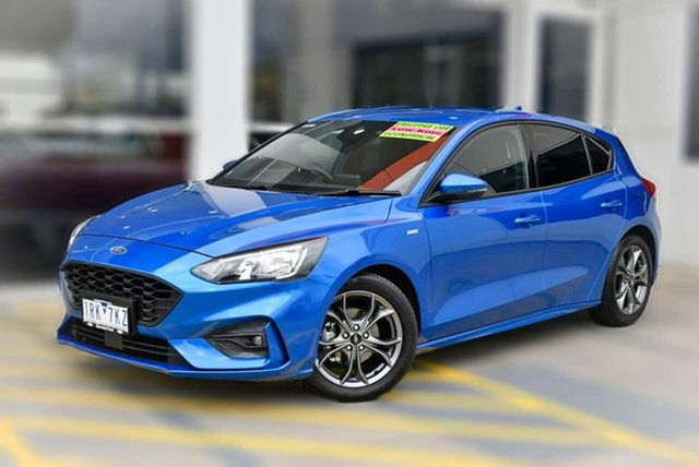 Used Ford Focus SA 2019.75MY ST-Line Berwick, 2019 Ford Focus SA 2019.75MY ST-Line Blue 8 Speed Automatic Hatchback