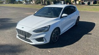 2020 Ford Focus SA 2020.25MY ST-Line Frozen White 8 Speed Automatic Hatchback