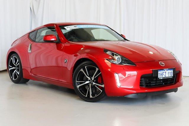 Used Nissan 370Z Z34 MY19 Wangara, 2019 Nissan 370Z Z34 MY19 Red 7 Speed Sports Automatic Coupe