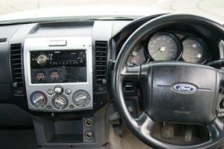 2007 Ford Ranger PJ 07 Upgrade XL (4x4) White 5 Speed Manual Dual Cab Pick-up