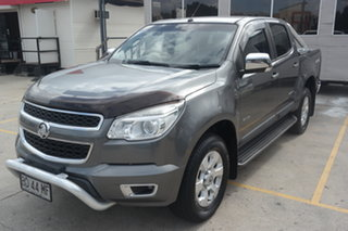 2013 Holden Colorado RG MY13 LTZ Crew Cab Grey 5 Speed Manual Utility.
