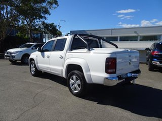 2017 Volkswagen Amarok 2H MY18 TDI550 4MOTION Perm Sportline Candy White 8 Speed Automatic Utility.