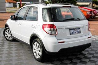 2014 Suzuki SX4 GYA MY13 Crossover Navigator White 6 Speed Constant Variable Hatchback.