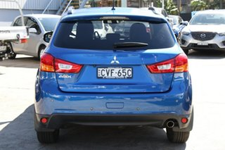 2014 Mitsubishi ASX XB MY15 XLS (2WD) Blue Continuous Variable Wagon