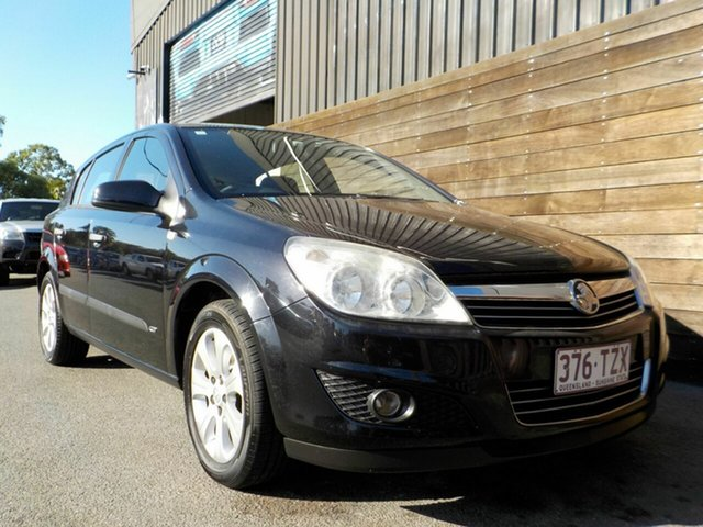 Used Holden Astra AH MY08.5 60th Anniversary Labrador, 2008 Holden Astra AH MY08.5 60th Anniversary Black 5 Speed Manual Hatchback