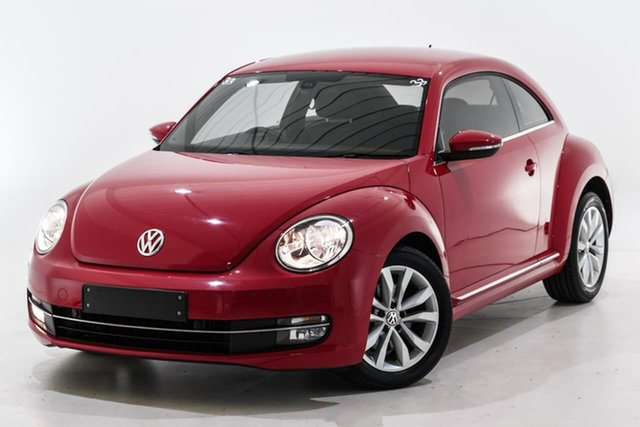Used Volkswagen Beetle 1L MY13 Coupe DSG Berwick, 2013 Volkswagen Beetle 1L MY13 Coupe DSG Red 7 Speed Sports Automatic Dual Clutch Liftback