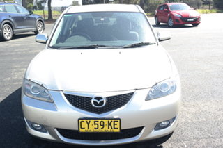 2005 Mazda 3 BK10F1 Maxx Silver 4 Speed Sports Automatic Sedan.