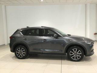 2018 Mazda CX-5 KF4W2A Akera SKYACTIV-Drive i-ACTIV AWD Machine Grey/kf 6 Speed Sports Automatic.
