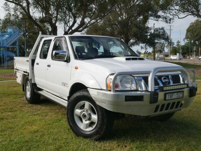 Used Nissan Navara D22 Series 5 ST-R (4x4) Wangaratta, 2012 Nissan Navara D22 Series 5 ST-R (4x4) White 5 Speed Manual Dual Cab Pick-up