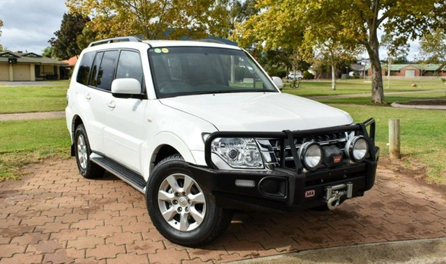 Used Mitsubishi Pajero NX MY18 GLX Ingle Farm, 2018 Mitsubishi Pajero NX MY18 GLX White 5 Speed Sports Automatic Wagon