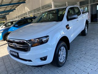 2018 Ford Ranger XLS White Sports Automatic Double Cab Pick Up.
