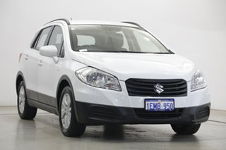 2014 Suzuki S-Cross JY GL White 7 Speed Constant Variable Hatchback