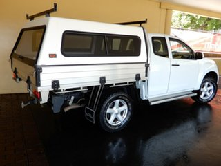 2012 Isuzu D-MAX TF MY12 SX (4x4) White 5 Speed Automatic Space Cab Chassis