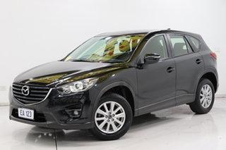 2015 Mazda CX-5 KE1072 Maxx SKYACTIV-Drive Sport Black 6 Speed Sports Automatic Wagon.