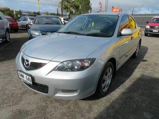 2007 Mazda 3 BK MY06 Upgrade Neo Silver 4 Speed Auto Activematic Sedan.