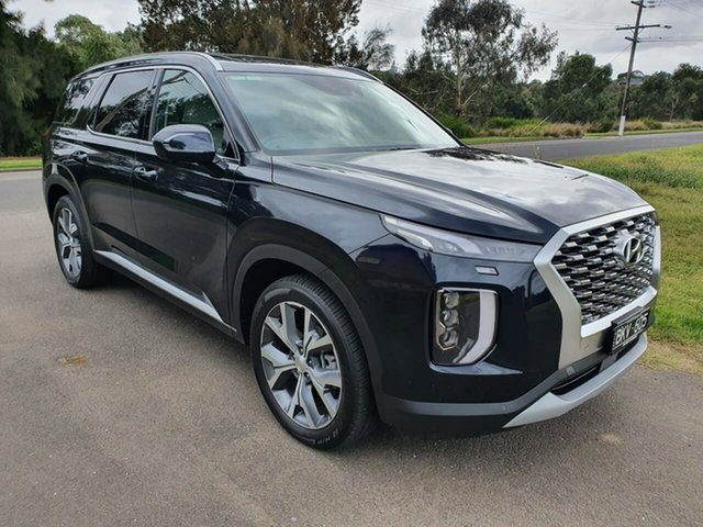 Demo Hyundai Palisade Highlander Geelong, 2021 Hyundai Palisade LX2.V1 Highlander Blue Sports Automatic Wagon
