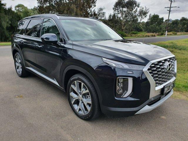 Demo Hyundai Palisade Highlander Geelong, 2021 Hyundai Palisade LX2.V1 Highlander Blue Sports Automatic Wagon