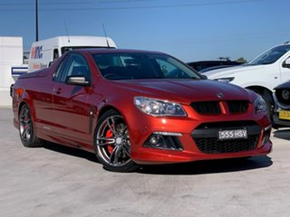 2015 Holden Special Vehicles Maloo Gen-F MY15 R8 Some Like It Hot 6 Speed Manual Utility.