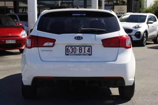 2011 Kia Cerato TD MY11 SI Clear White 6 Speed Sports Automatic Hatchback