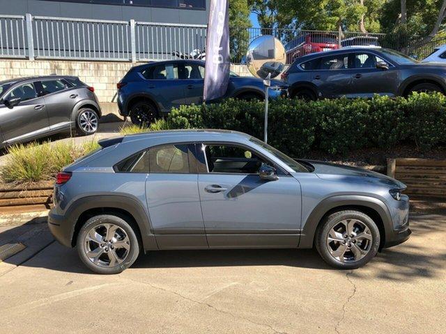 Demo Mazda MX-30 DR2W7A G20e SKYACTIV-Drive Astina Toowoomba, 2021 Mazda MX-30 DR2W7A G20e SKYACTIV-Drive Astina Grey 6 Speed Sports Automatic Wagon