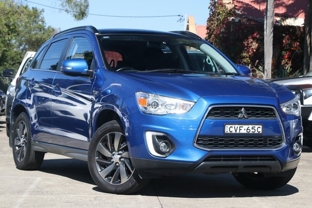 Pre-Owned Mitsubishi ASX XB MY15 XLS (2WD) Mosman, 2014 Mitsubishi ASX XB MY15 XLS (2WD) Blue Continuous Variable Wagon
