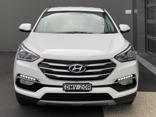 2017 Hyundai Santa Fe DM3 MY17 Active White 6 Speed Sports Automatic Wagon.