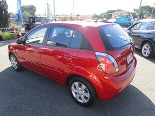 2011 Kia Rio JB MY11 S Red 4 Speed Automatic Hatchback.