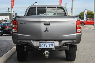 2016 Mitsubishi Triton MQ MY17 GLX Double Cab Grey 6 Speed Manual Utility