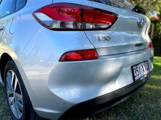 2017 Hyundai i30 PD MY18 Active Platinum Silver 6 Speed Sports Automatic Hatchback