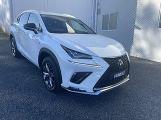 2020 Lexus NX AGZ10R NX300 2WD F Sport Pearl White 6 Speed Sports Automatic Wagon.