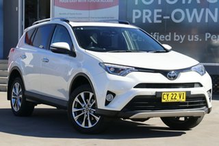 2017 Toyota RAV4 ASA44R Cruiser AWD Crystal Pearl 6 Speed Automatic Wagon.