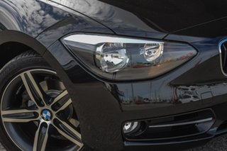 2013 BMW 118i F20 118i Black 8 Speed Sports Automatic Hatchback.