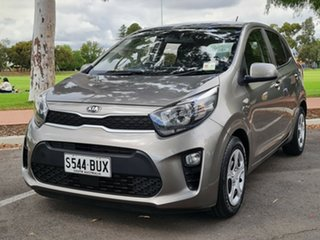 2018 Kia Picanto JA MY18 S Grey 4 Speed Automatic Hatchback.