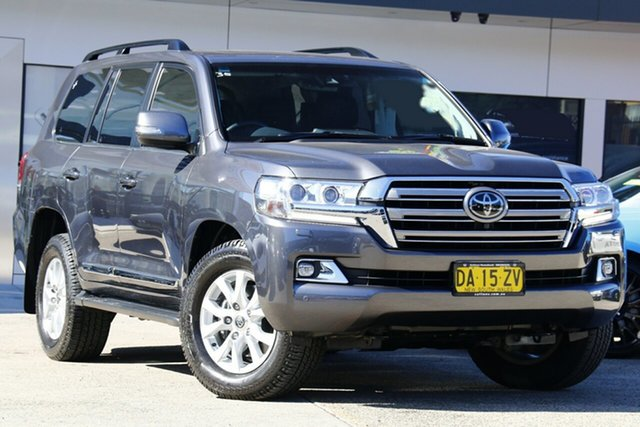 Used Toyota Landcruiser VDJ200R Sahara Homebush, 2017 Toyota Landcruiser VDJ200R Sahara Grey 6 Speed Sports Automatic Wagon