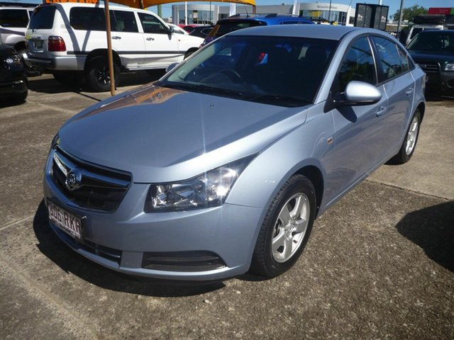Used Holden Cruze JG CD Morayfield, 2010 Holden Cruze JG CD Blue 6 Speed Sports Automatic Sedan