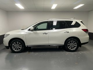2016 Nissan Pathfinder R52 MY16 ST X-tronic 2WD Ivory Pearl 1 Speed Constant Variable Wagon